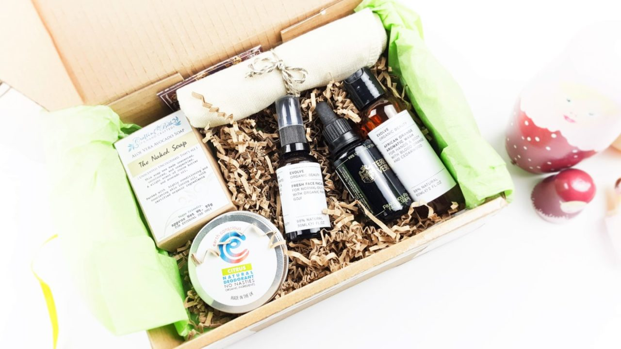 January Natural Beauty Box