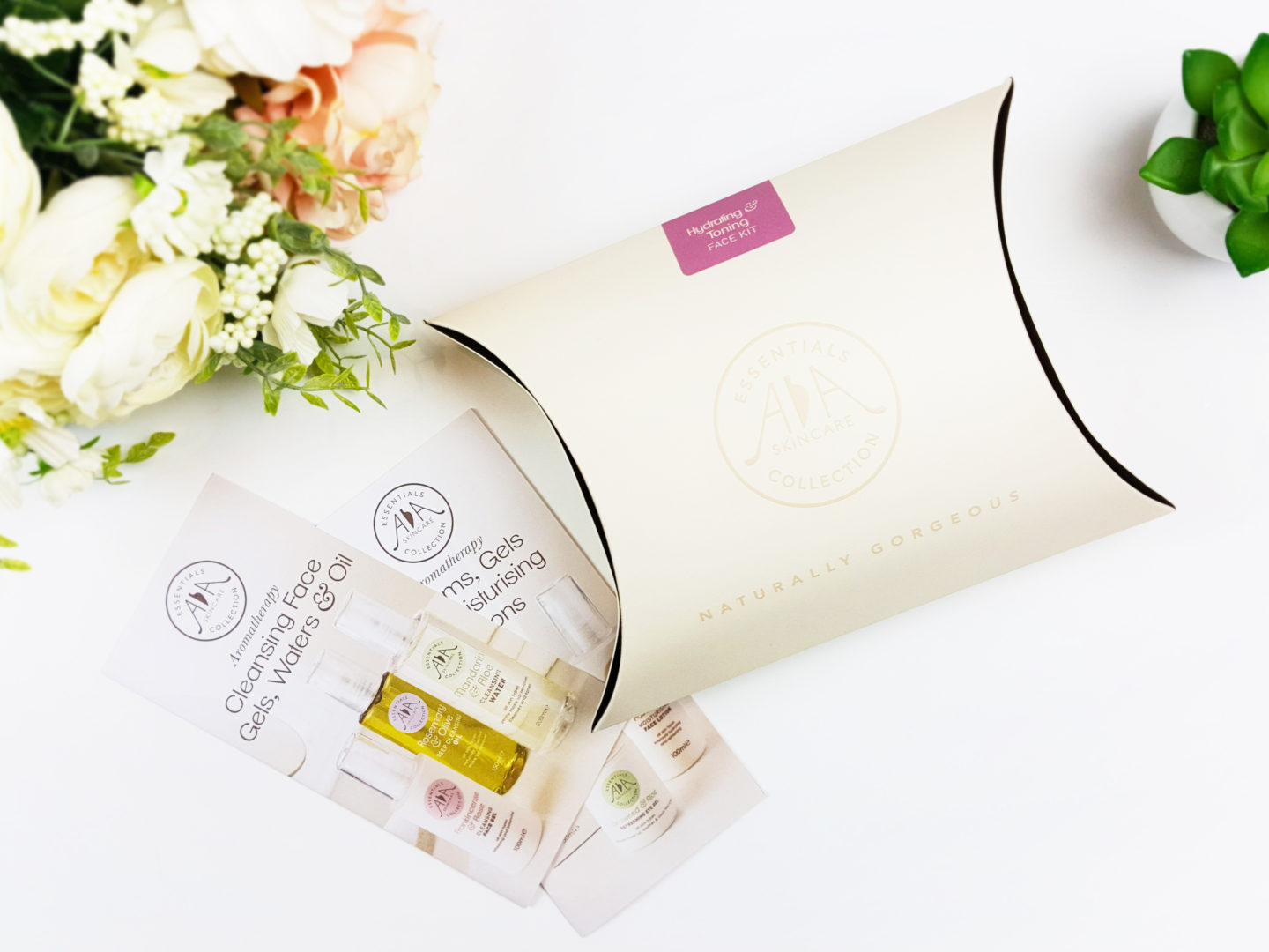 Stop And Smell The Roses: Hydrating & Toning Face Kit by AA Skincare