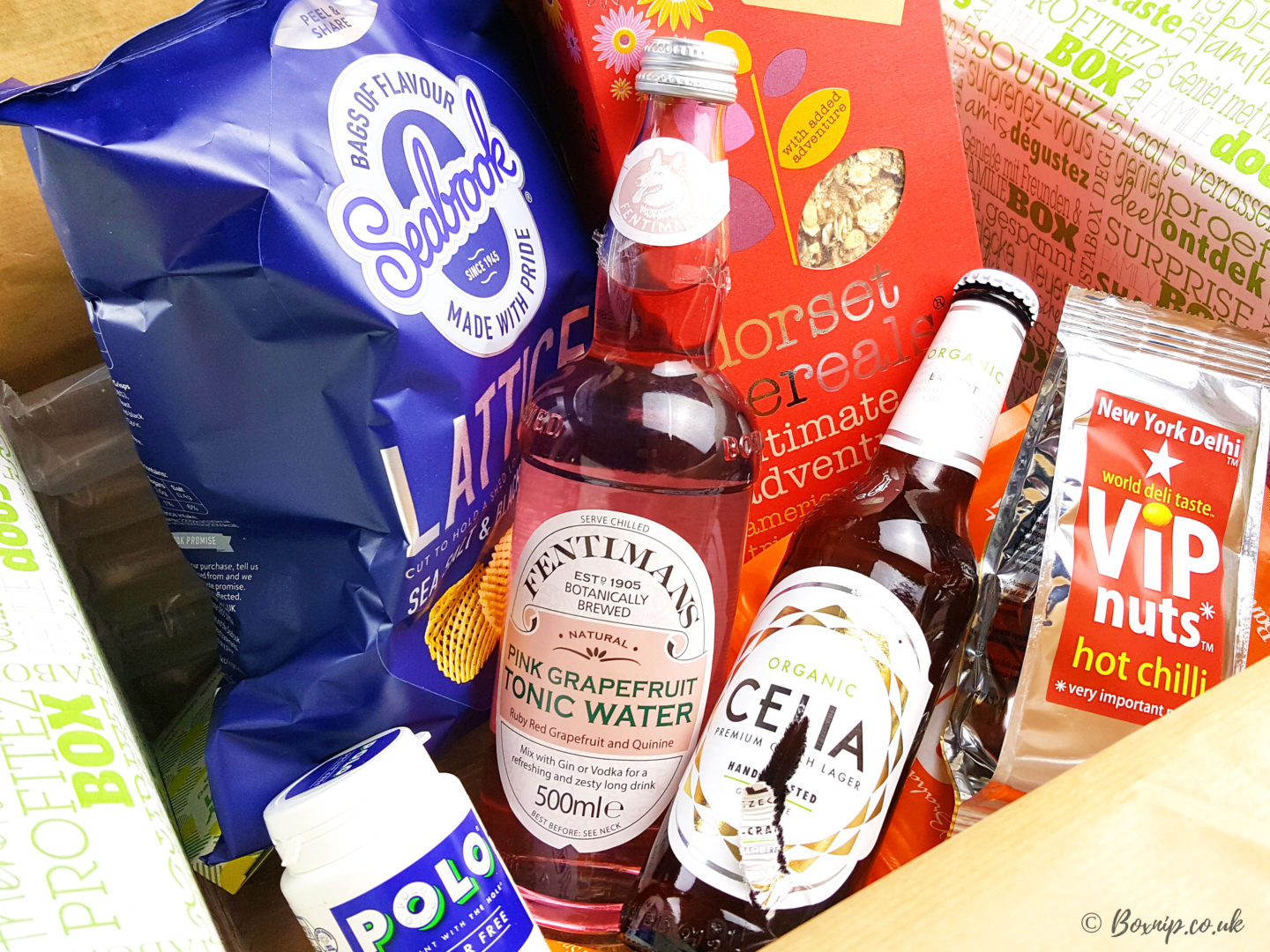 Healthy Snacks & More In The April DegustaboxUK