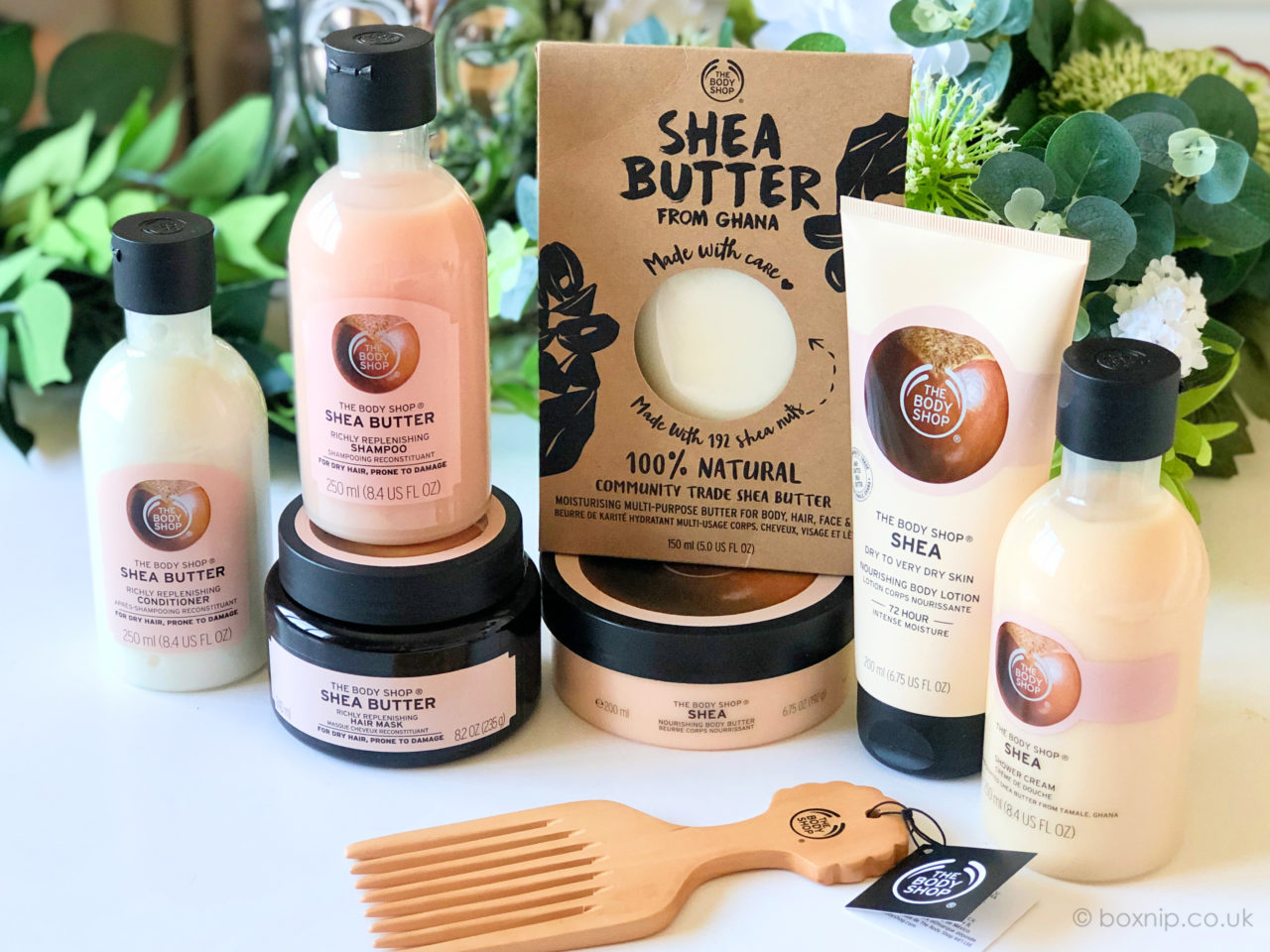 Shea Butter Range from The Body Shop