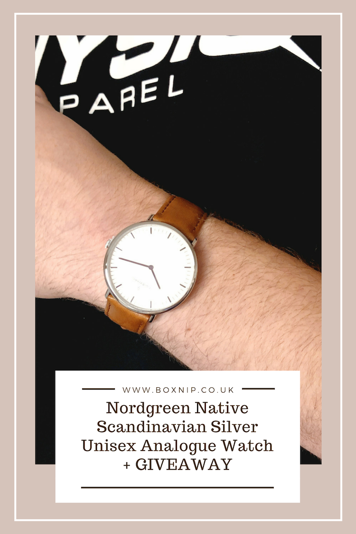 Nordgreen Native Scandinavian Silver Unisex Analogue Watch