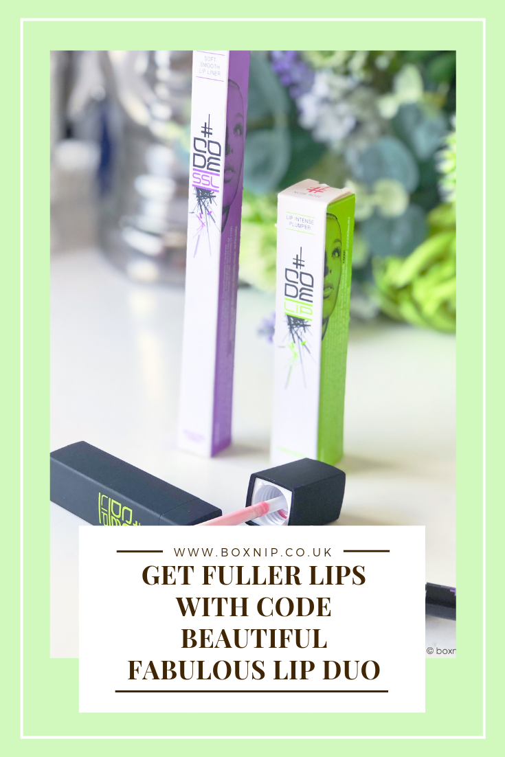 Get Fuller Lips with Code Beautiful Fabulous Lip Duo