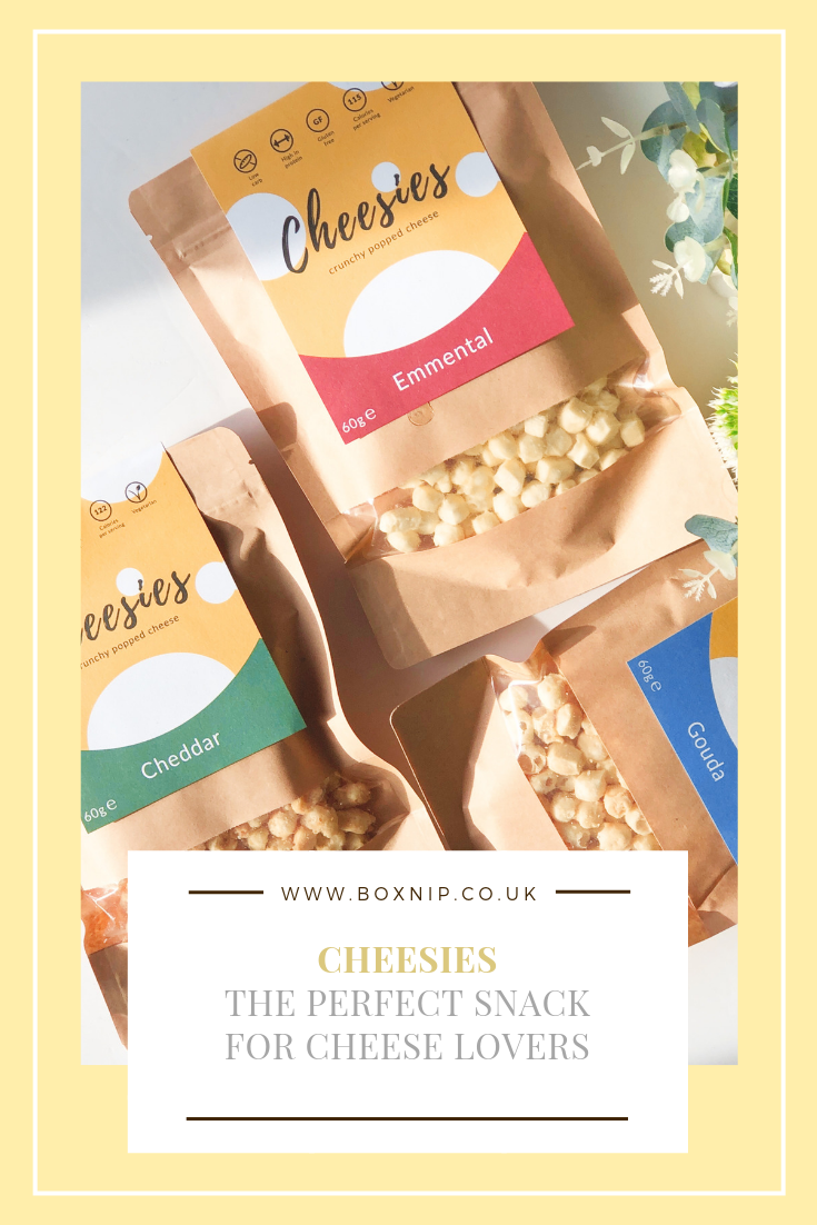 Cheesies - crunchy popped cheese snack