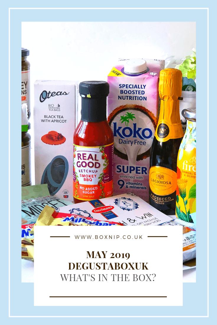 May 2019 DegustaboxUK