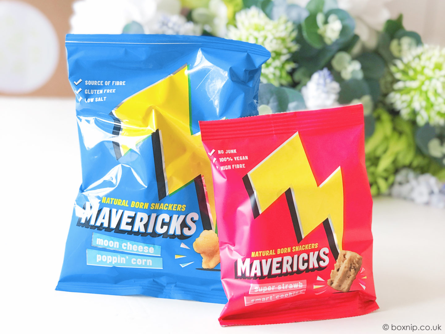 Mavericks Healthier Snacks for Kids