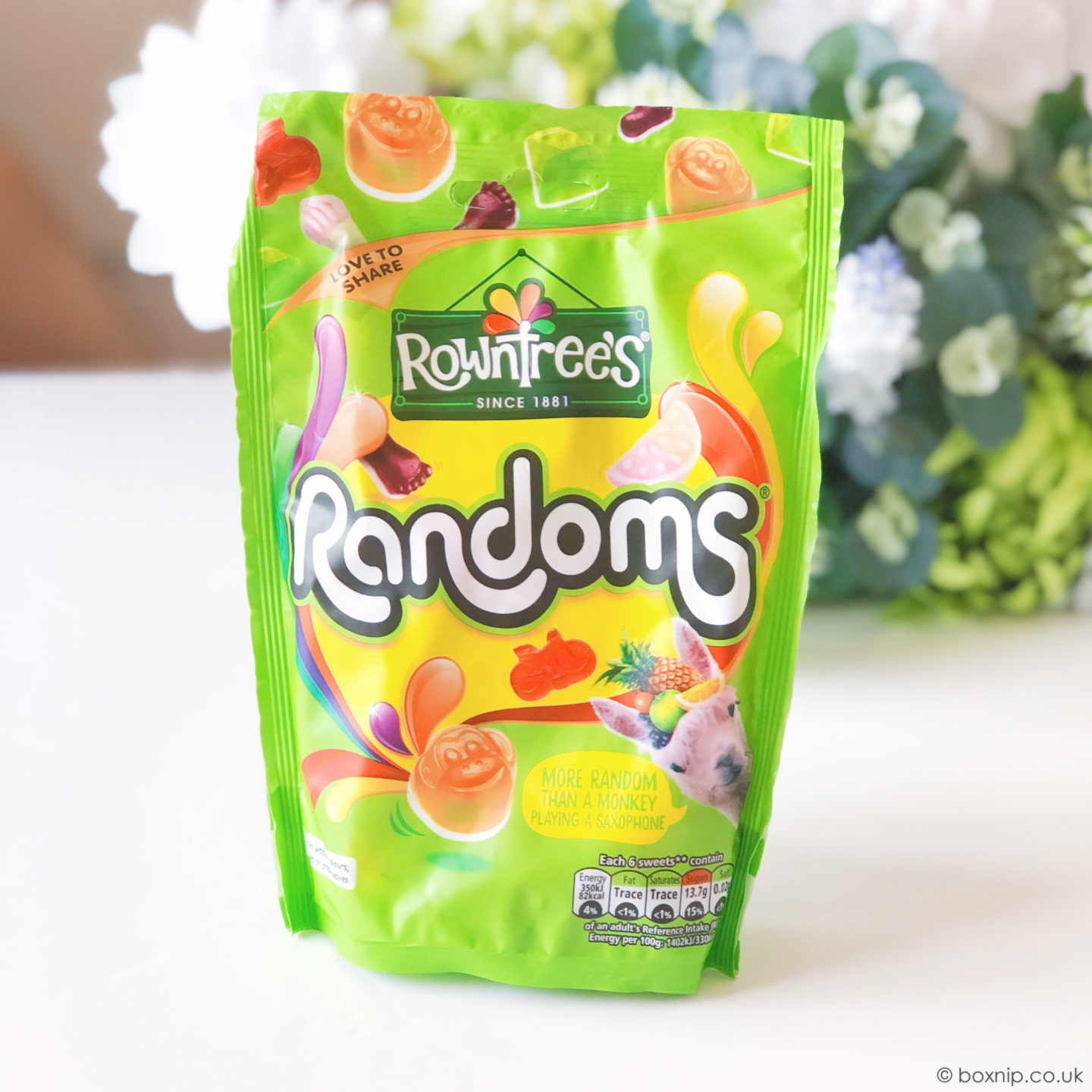 Rowntree's® Randoms® Sharing Bag - June 2019 DegustaboxUK