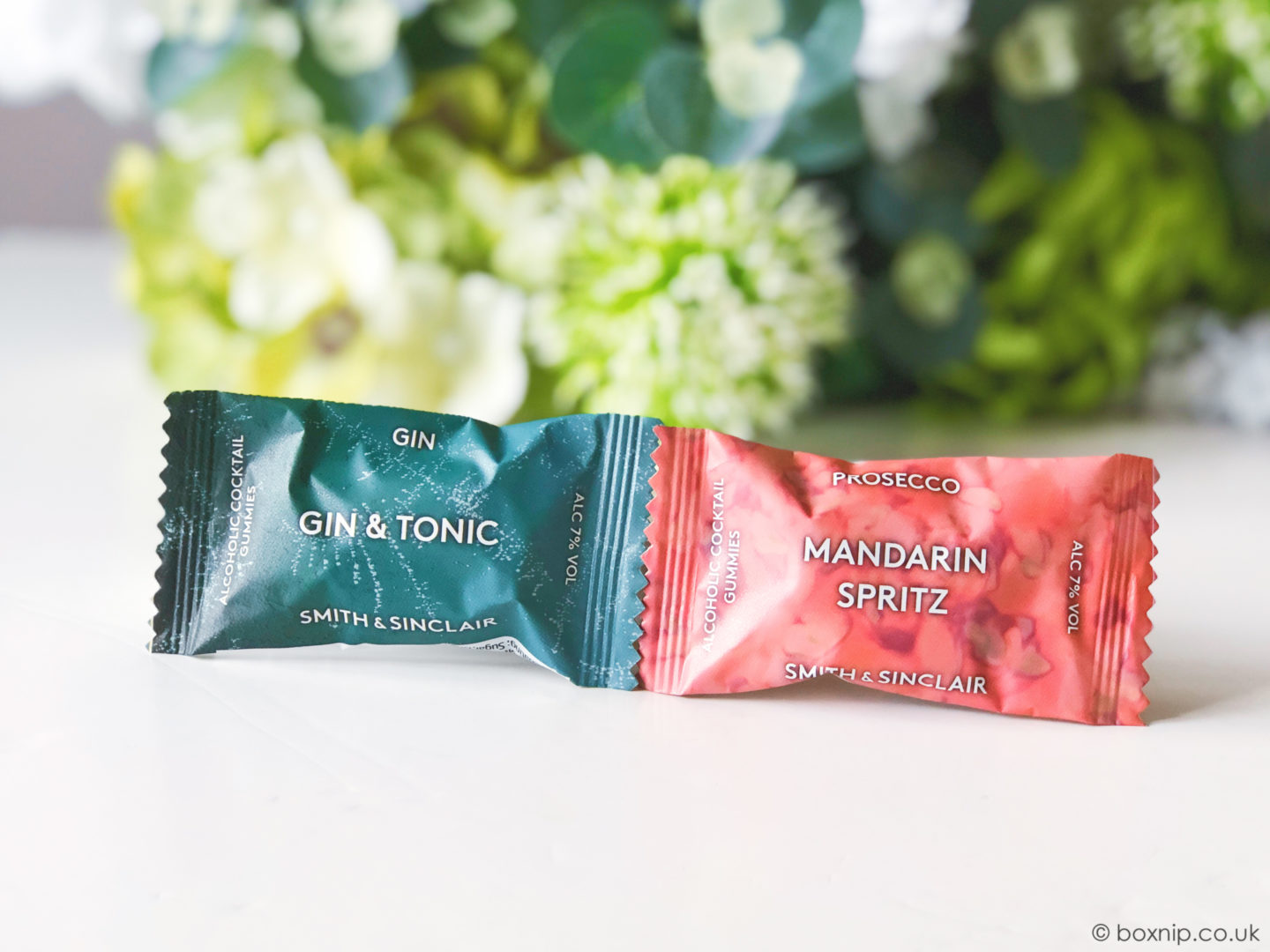 Smith & Sinclair Alcoholic Cocktail Gummies - June 2019 DegustaboxUK