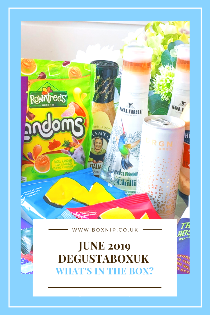 June 2019 Degustabox UK Pinterest Image
