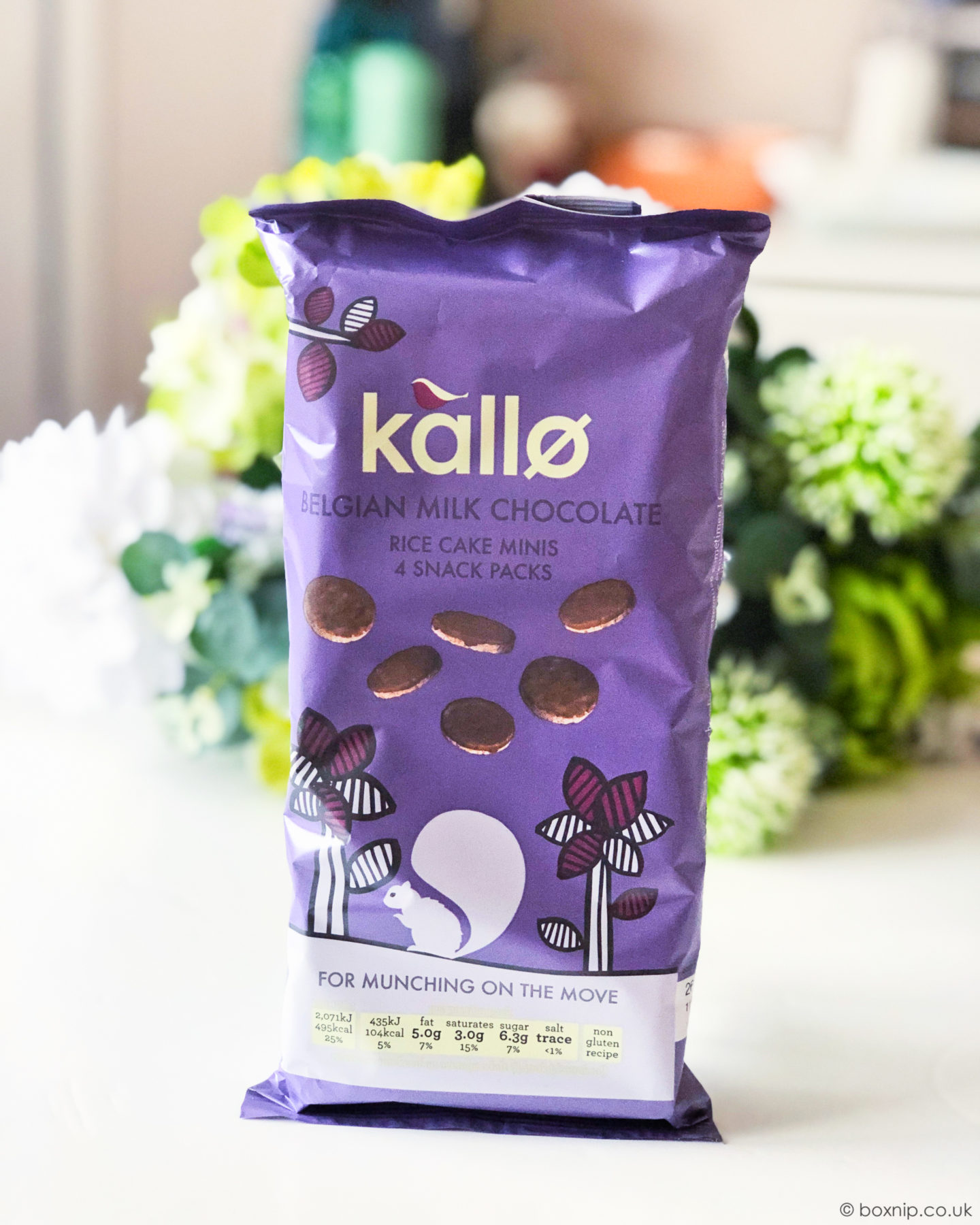 Kallo Belgium Milk Chocolate Rice Cake Minis - July 2019 Degusta Box