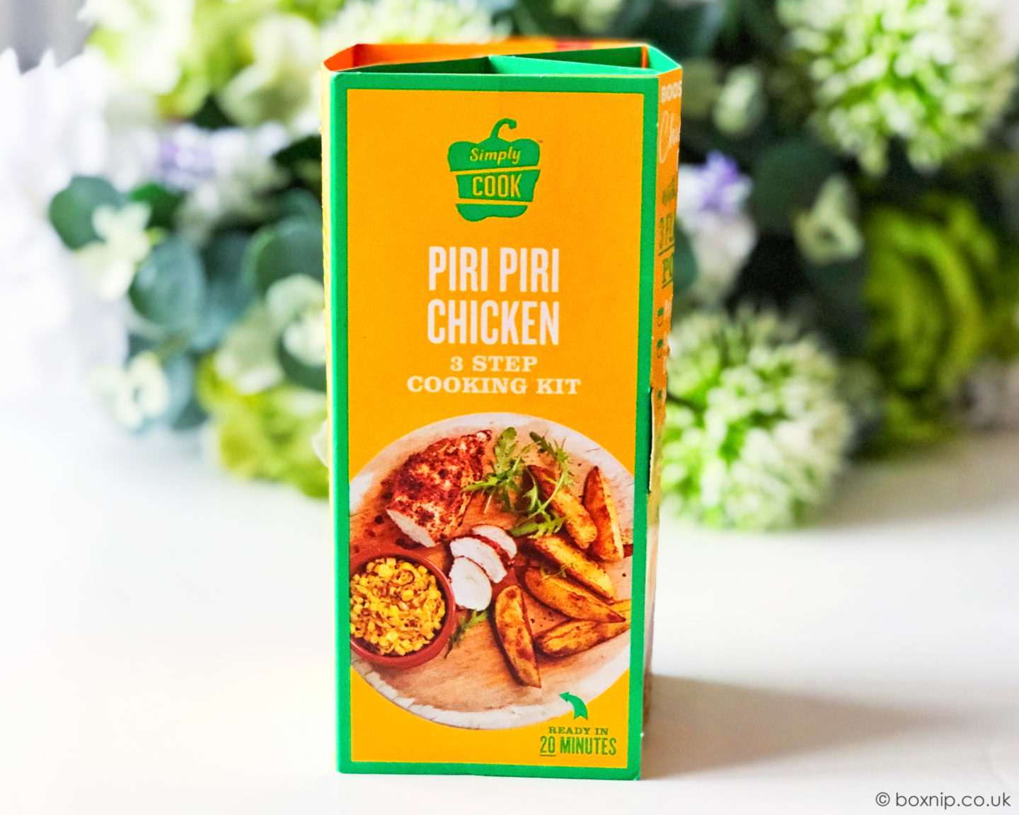 Simply Cook Piri Piri Chicken 3 STep Meal Kit - July 2019 Degusta Box