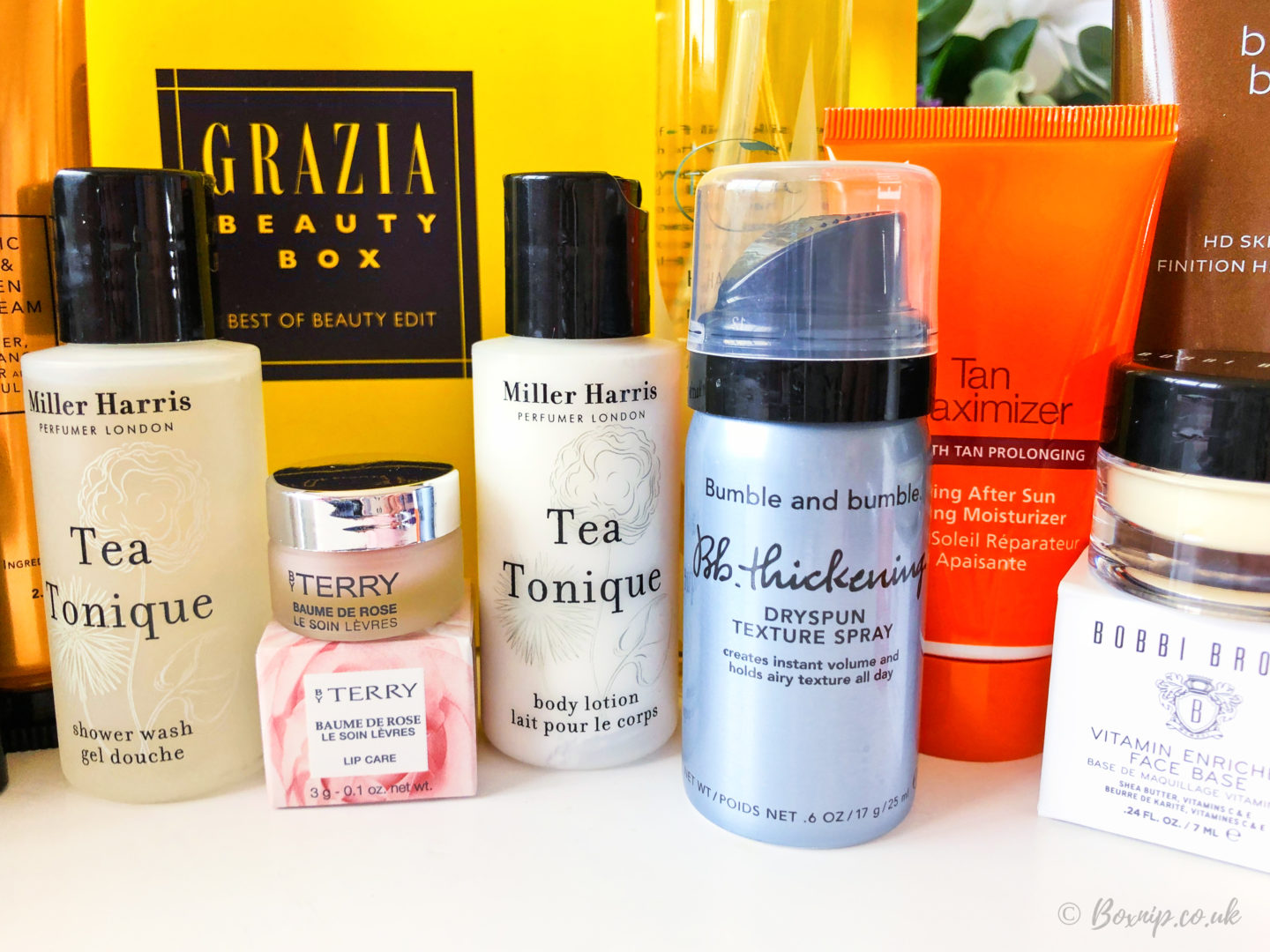 Grazia Beauty Best of Beauty Box