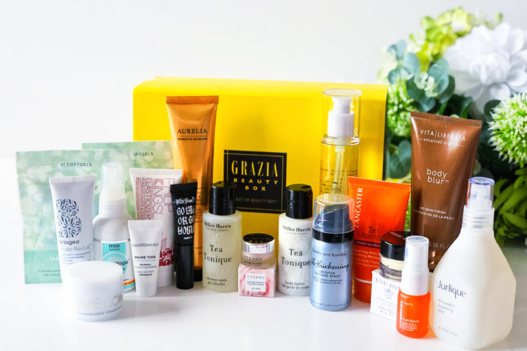 Grazia Best of Beauty Box from Latest in Beauty