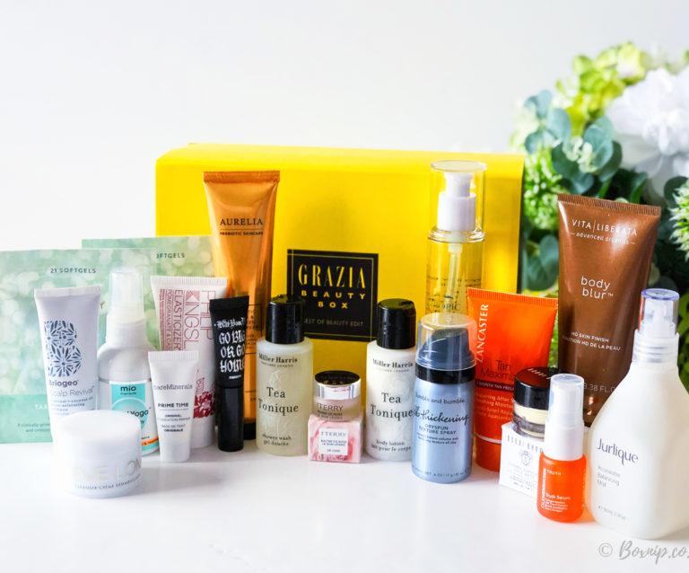 Grazia Best of Beauty Box from Latest in Beauty