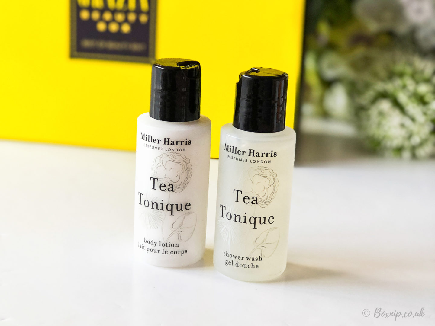 Miller Harris - Tea Tonique Shower Wash & Body Lotion