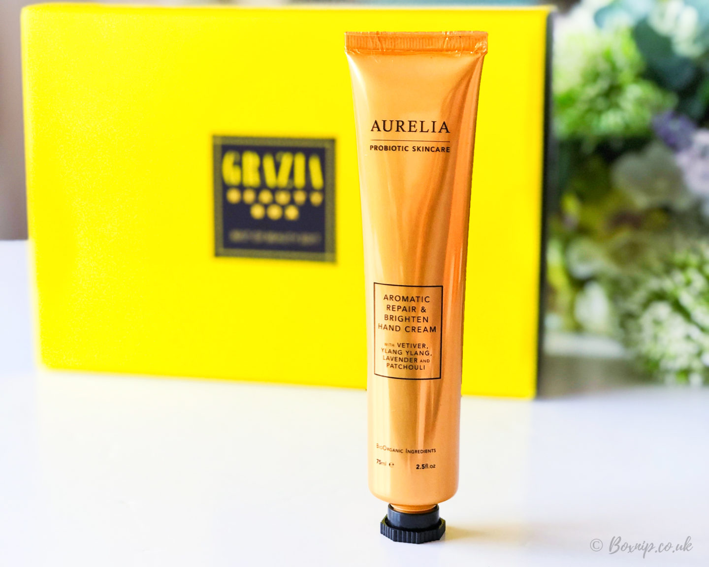 Aurelia - Aromatic Repair and Brighten Hand Cream from the Grazia Best of Beauty Box