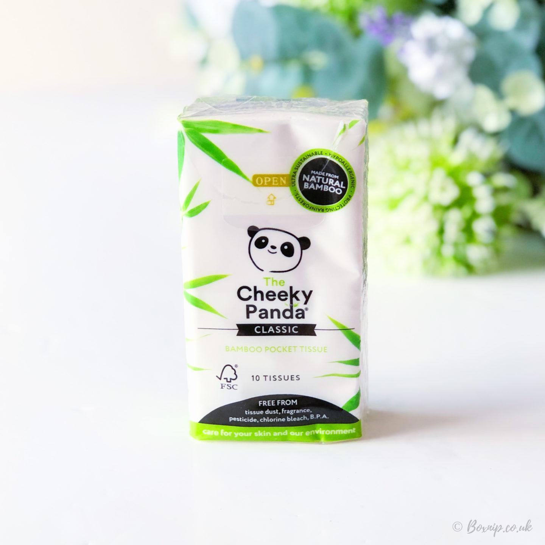 Cheeky Panda Classic Bamboo Pocket Tissues