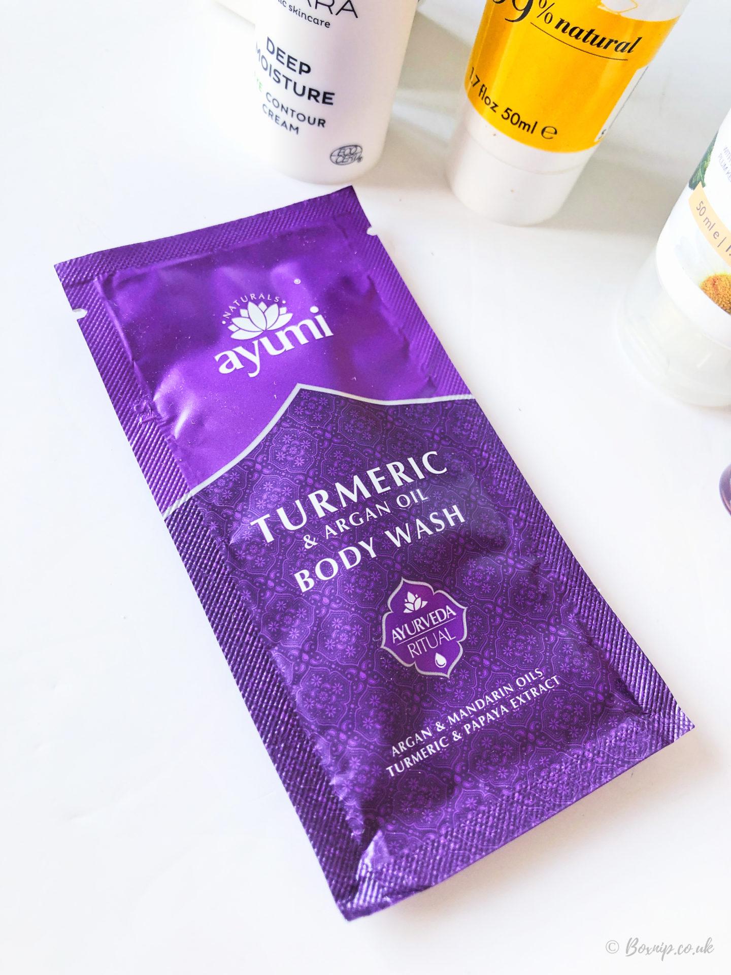 Ayumi Turmeric Body Wash Sample