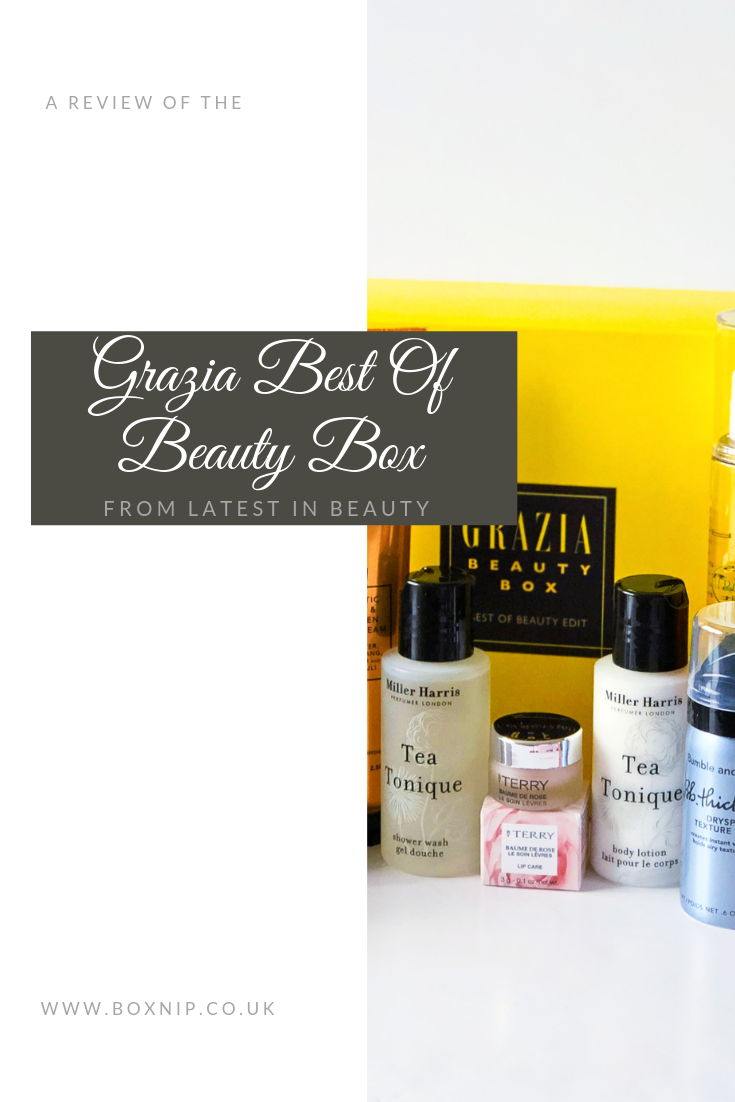 Grazia Best of Beauty Box