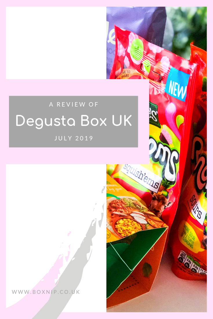 July 2019 Degusta Box UK - Pinterest image