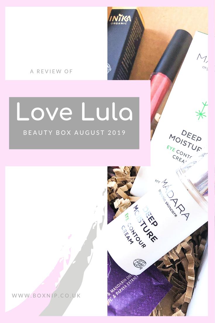 Love Lula August 2019