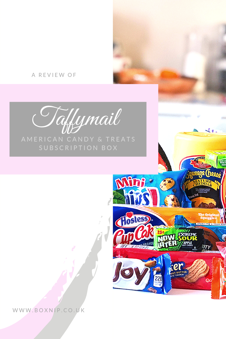 Taffymail - American Candy Subscription Box Review