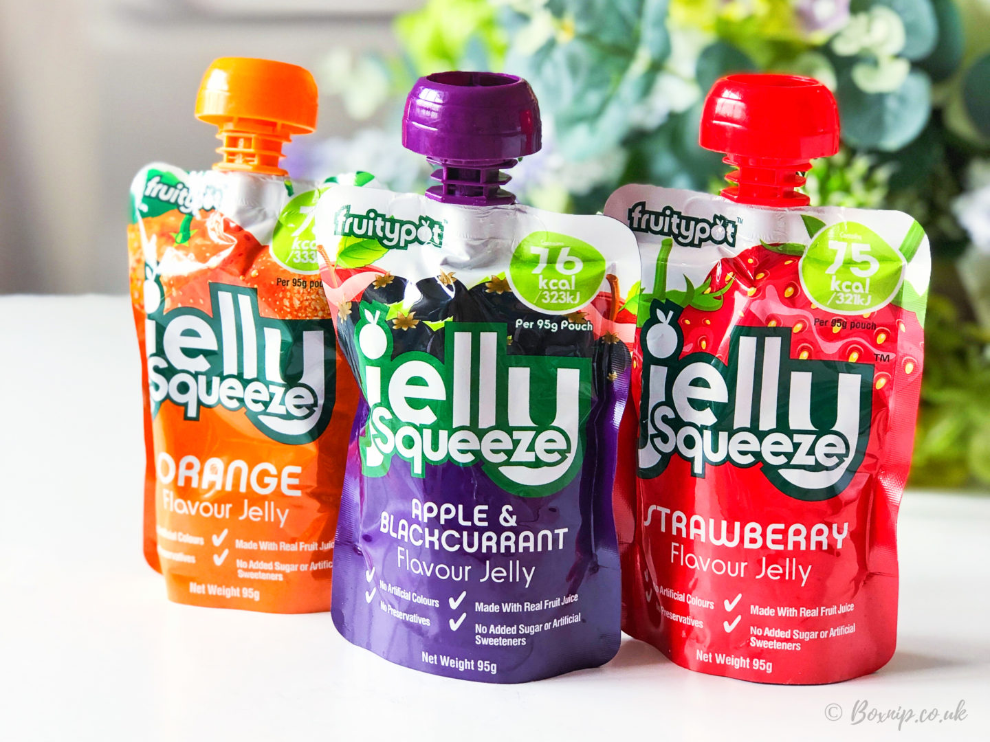 JellySqueeze Jelly Pouches - August 2019 Degusta Box