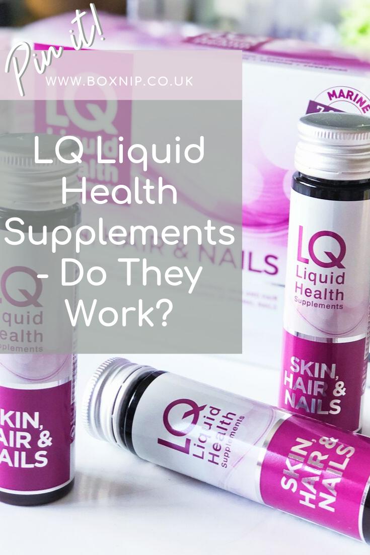 LQ Liquid Health Supplements - Pinterest Pin
