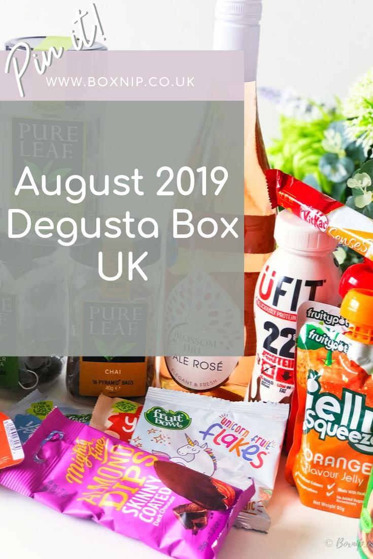 August 2019 Degusta Box UK