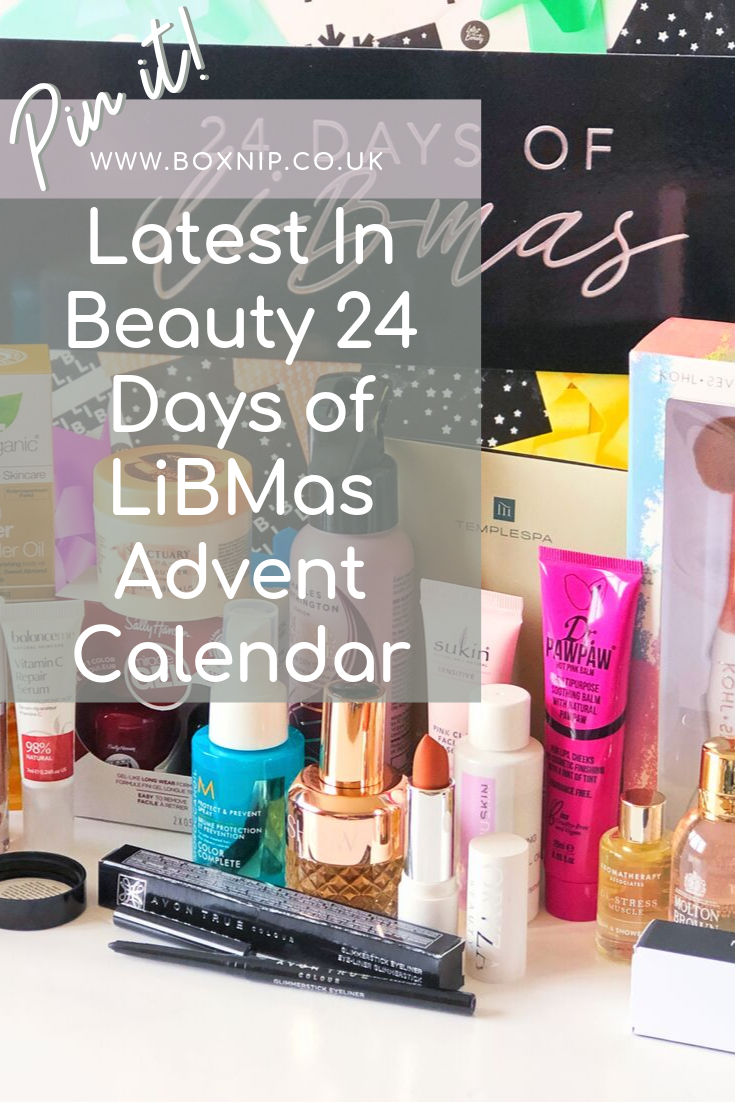 latest in Beauty 24 Days of LiBMas Advent Calendar