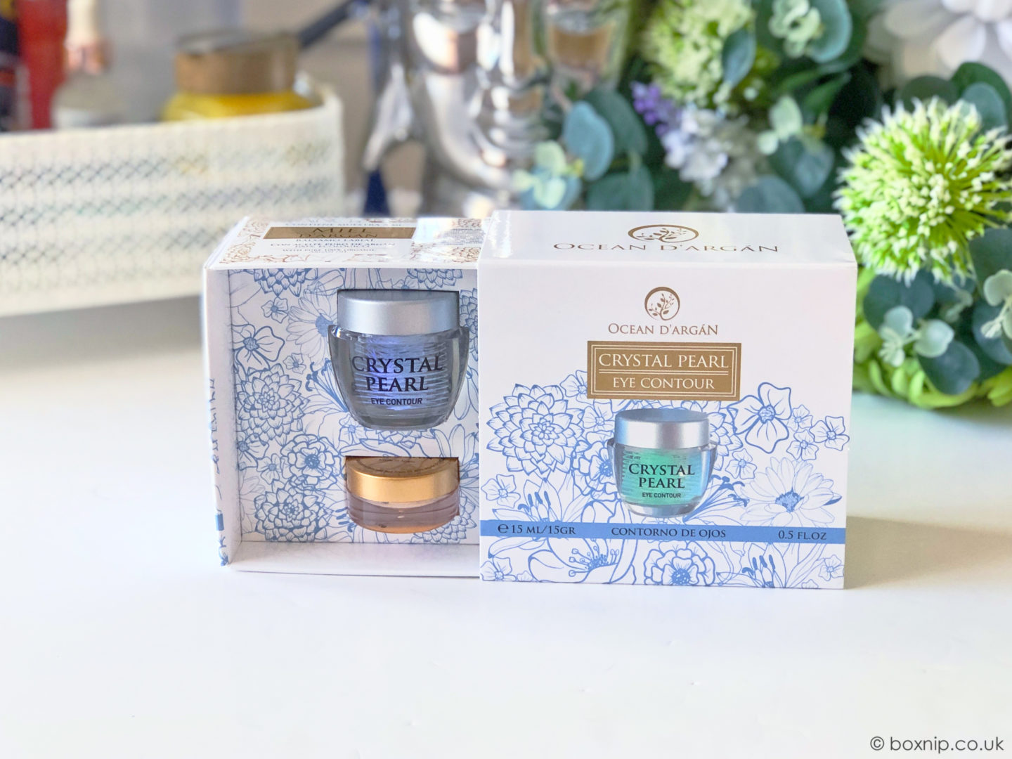 Ocean D'argán Crystal Pearl Eye Cream