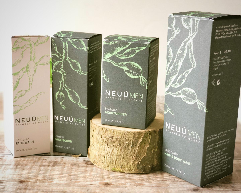 NEUÚ SEAWEED SKINCARE FOR MEN