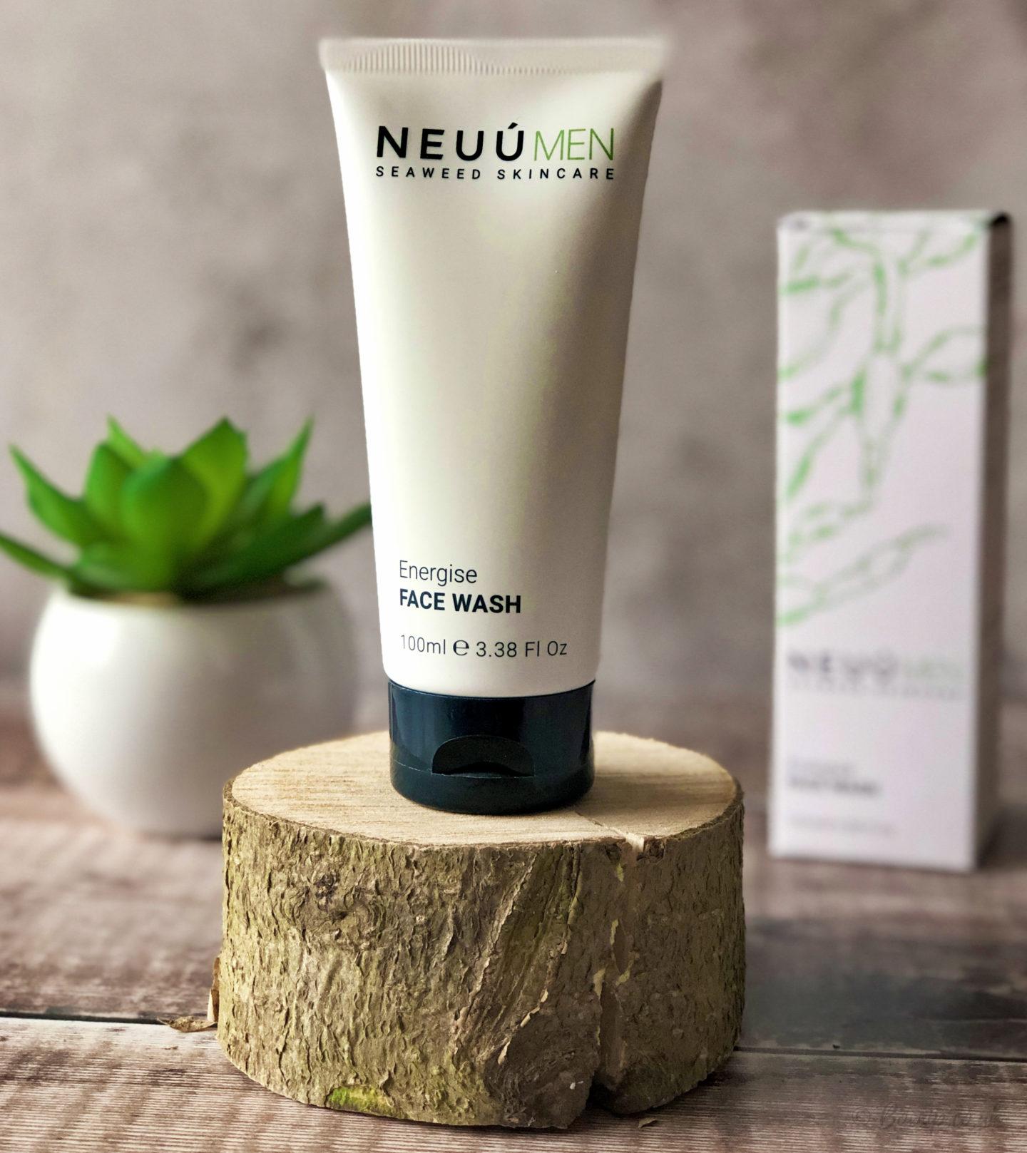 NEUÚ SEAWEED SKINCARE FOR MEN - Energise Face Wash