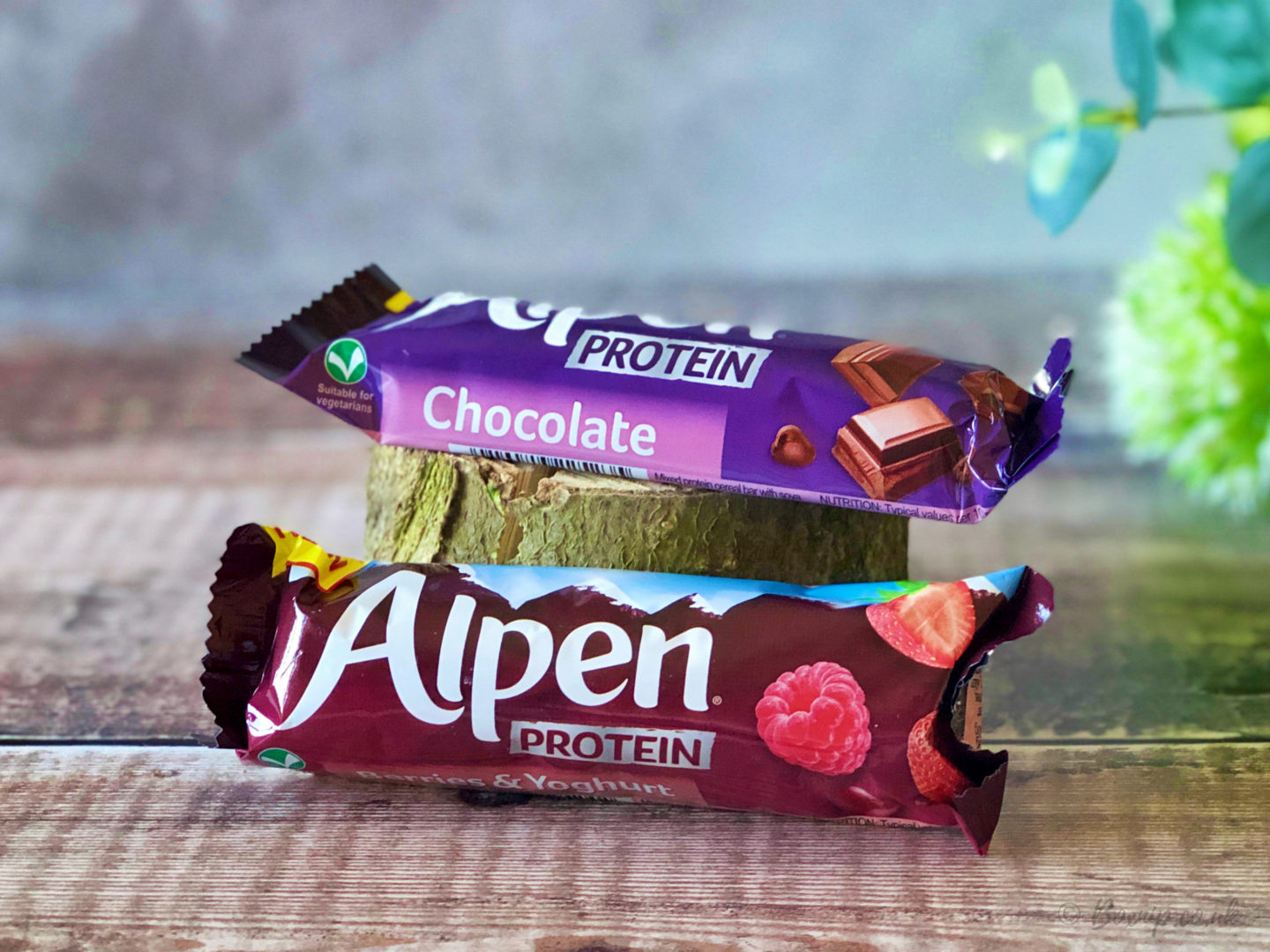 Alpen Protein Bars in Berries & Yoghurt and Chocolate