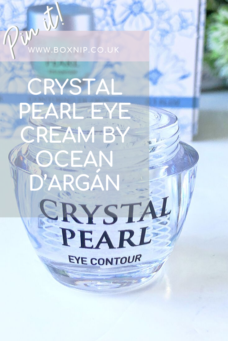 CRYSTAL PEARL EYE CREAM BY OCEAN D'ARGÁN