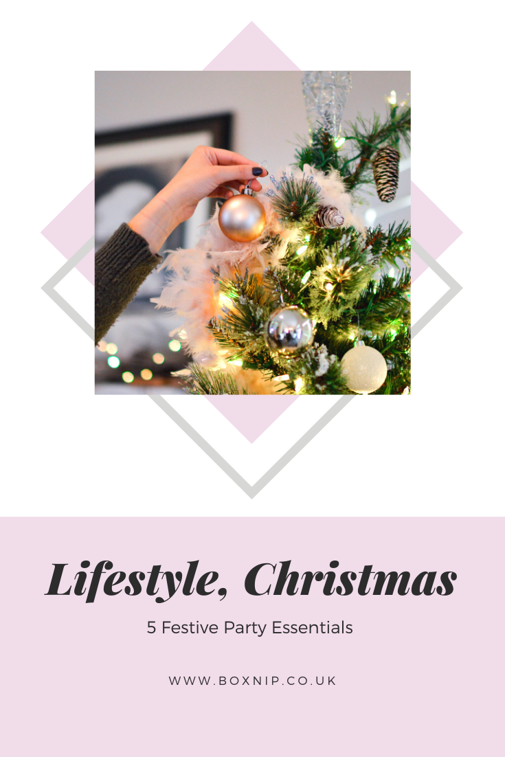 5 festive party essentials - Pin This!