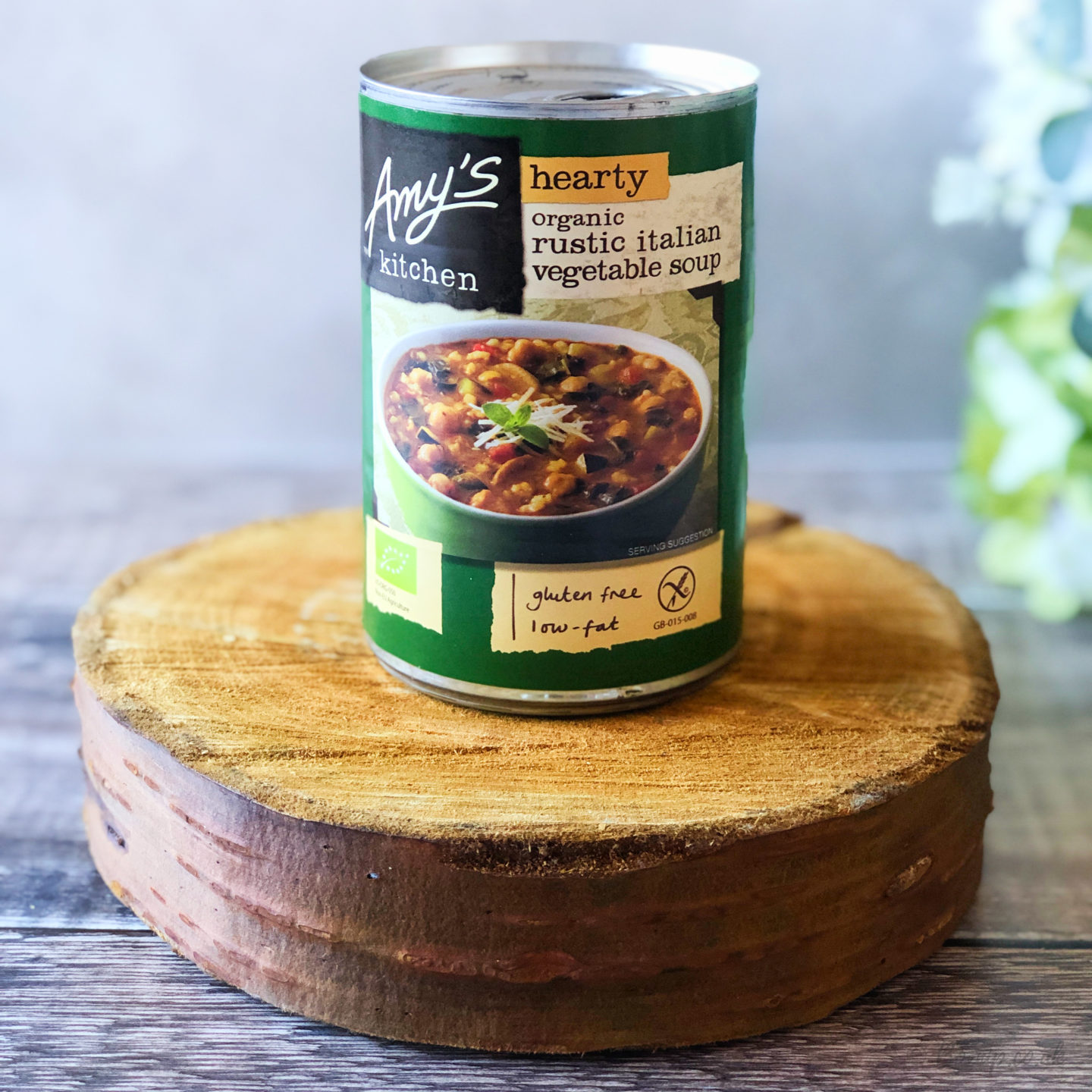 Amy's Kitchen Organic Hearty Rustic Italian Vegetable Soup - October 2019 Degusta Box
