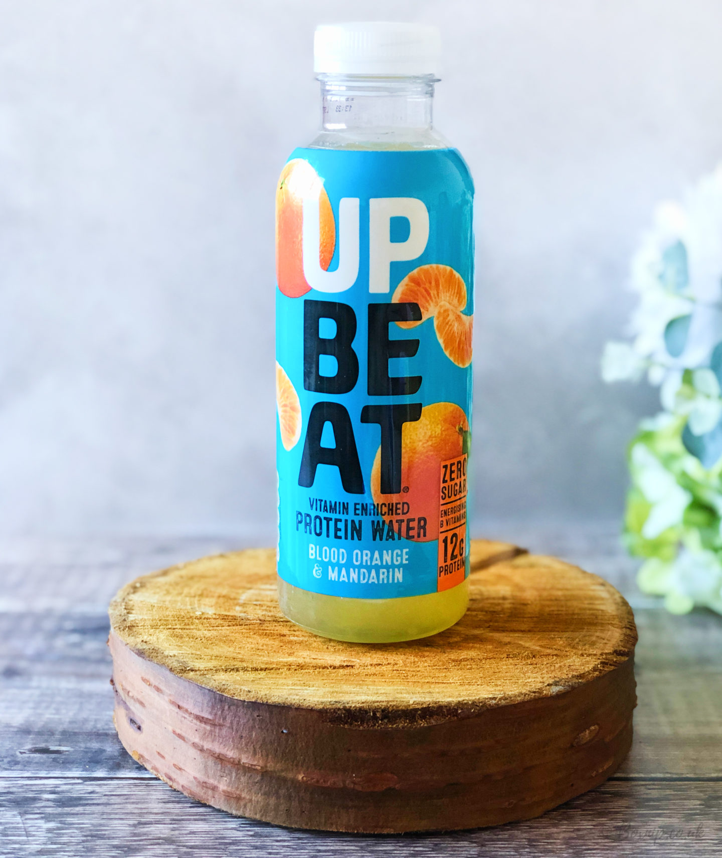 Upbeat Drinks Juicy Protein Water - Bood Orange & Mandarin - October 2019 Degusta Box