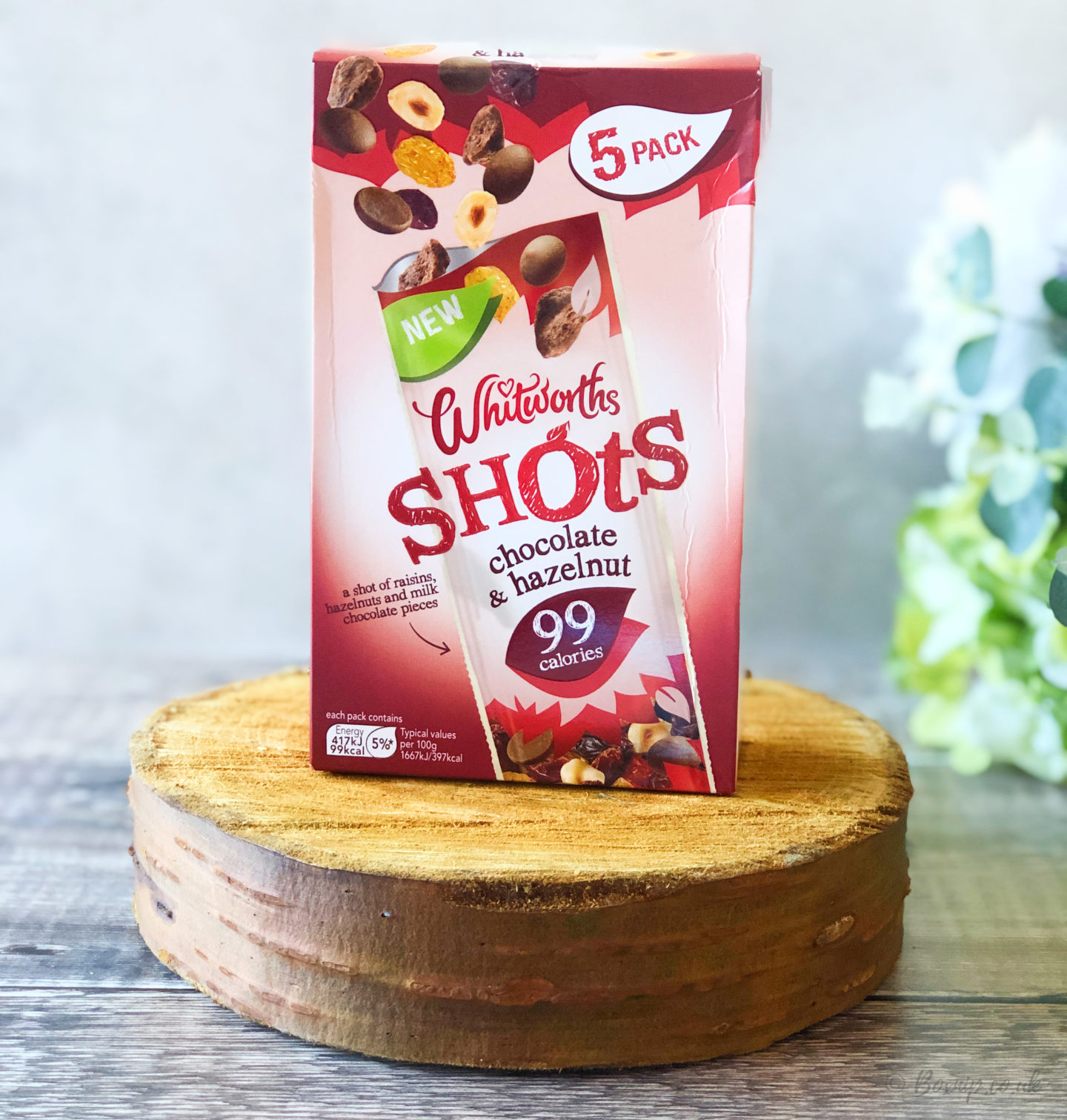 Whitworths Shots - Chocolate & Hazelnuts - October 2019 Degusta Box