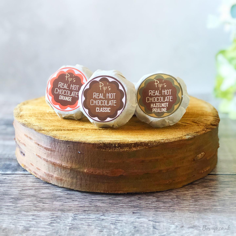 Pip's Real Hot Chocolate Coins - October 2019 Degusta Box