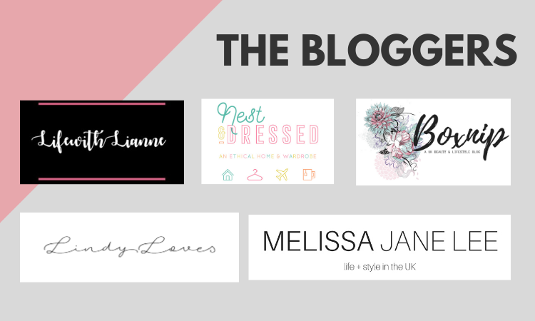 List of bloggers - win a £100 cinema gift card