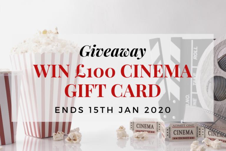 Win a £100 cinema gift card