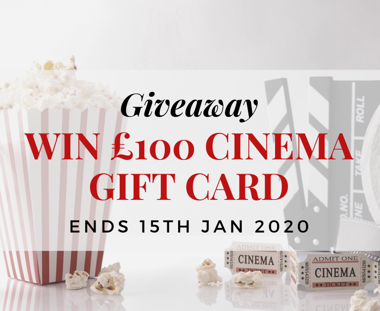 Win a £100 cinema gift card