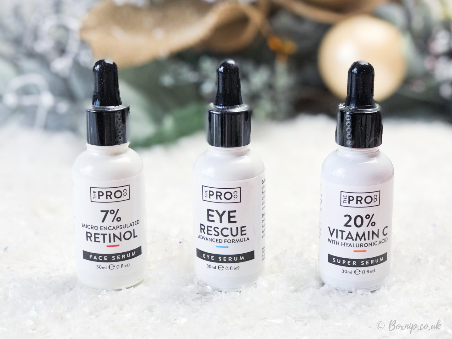 The Pro Co, ethical vegan serums