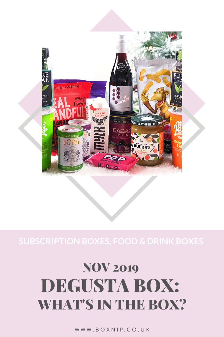 November 2019 Degusta Box - Pin This