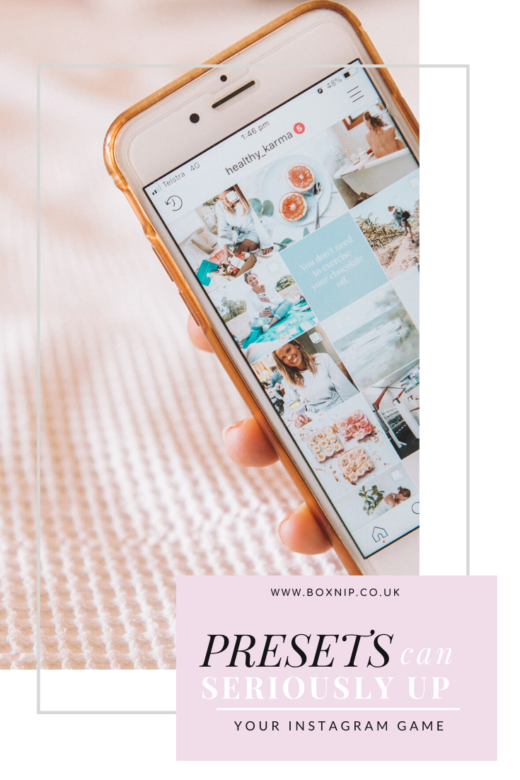 Presets Can Seriously Up Your Instagram Game
