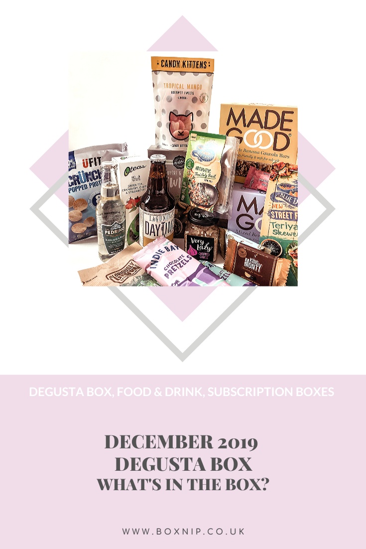 December 2019 Degusta Box - Pin This!