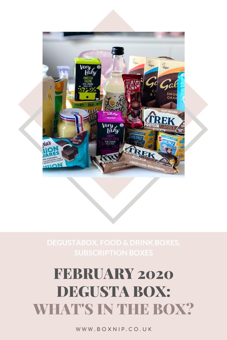 February 2020 Degusta Box