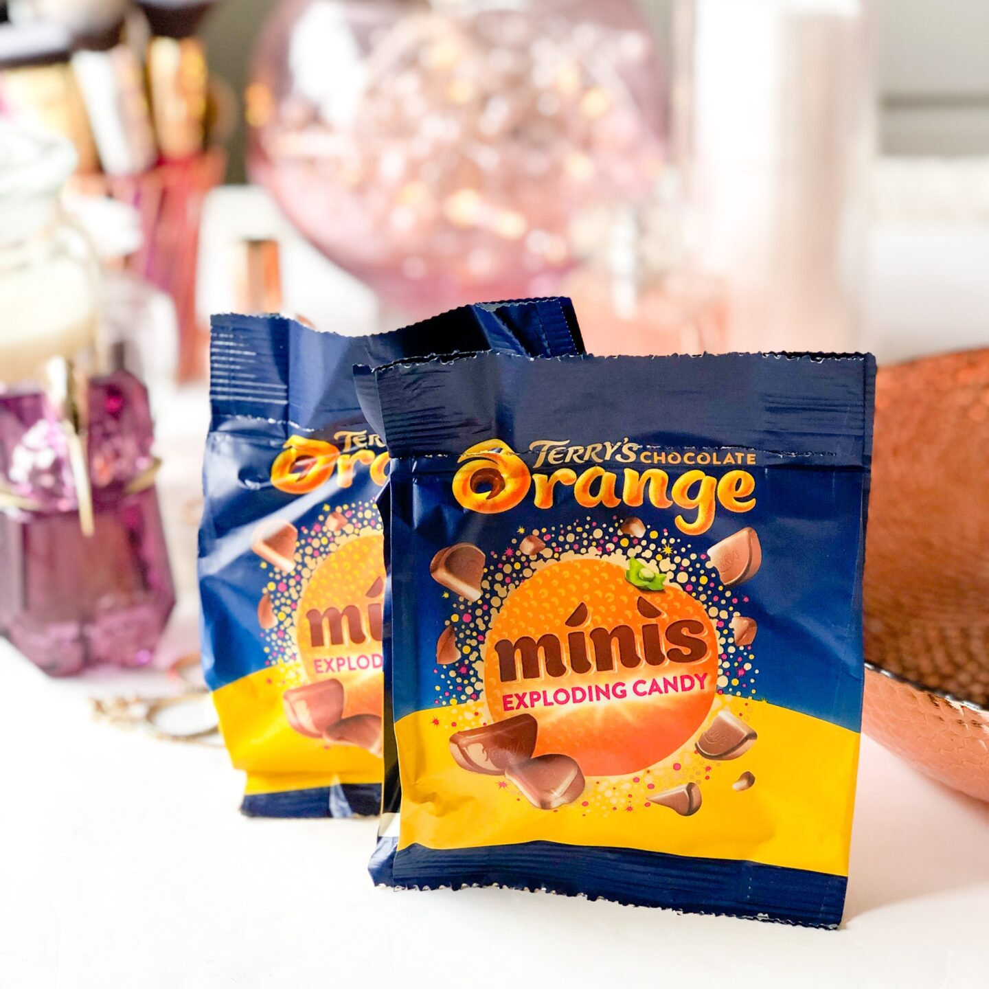 Terry's Chocolate Orange Minis Popping Candy - April 2020 Degusta Box