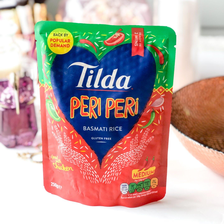 Tilda Peri Peri Microwave Rice - April 2020 Degusta Box