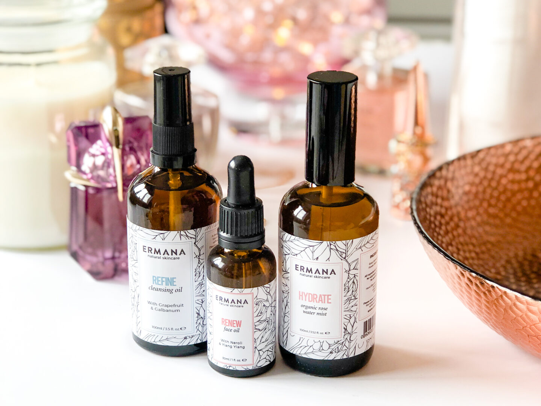 3 Step Skincare Routine with Ermana Skincare